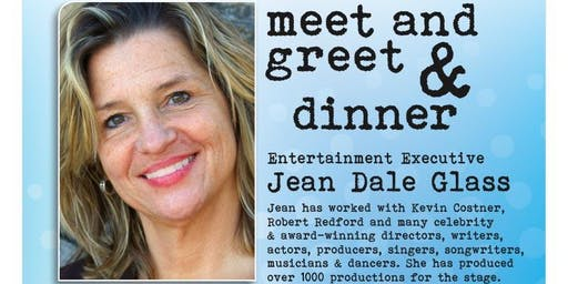 Los angeles ca celebrity meet and greet events eventbrite dinner and meet greet with exec producer jean dale m4hsunfo