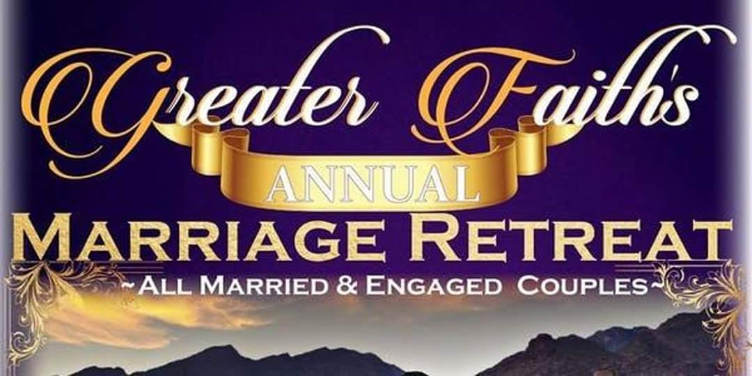 """""""And They Shall Be Called One"""" Marriage Retreat 2019 banner"""