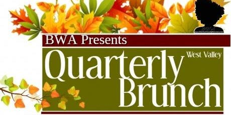 BWA West Valley Quarterly Brunch (Fall 2019) tickets