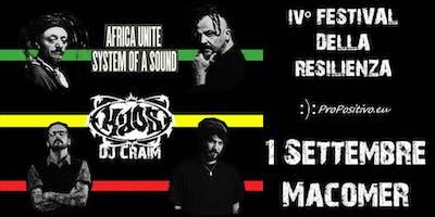 #Resilienza18 - Africa Unite + KaosOne & Dj Craim