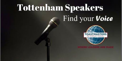 Meeting of Tottenham Speakers Toastmasters Club