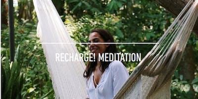 REcharge!  meditation at Zenfinite Meditation Lounge