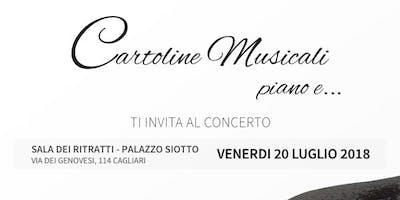 """Aperitivo e concerto """"Cartoline Musicali"""""""