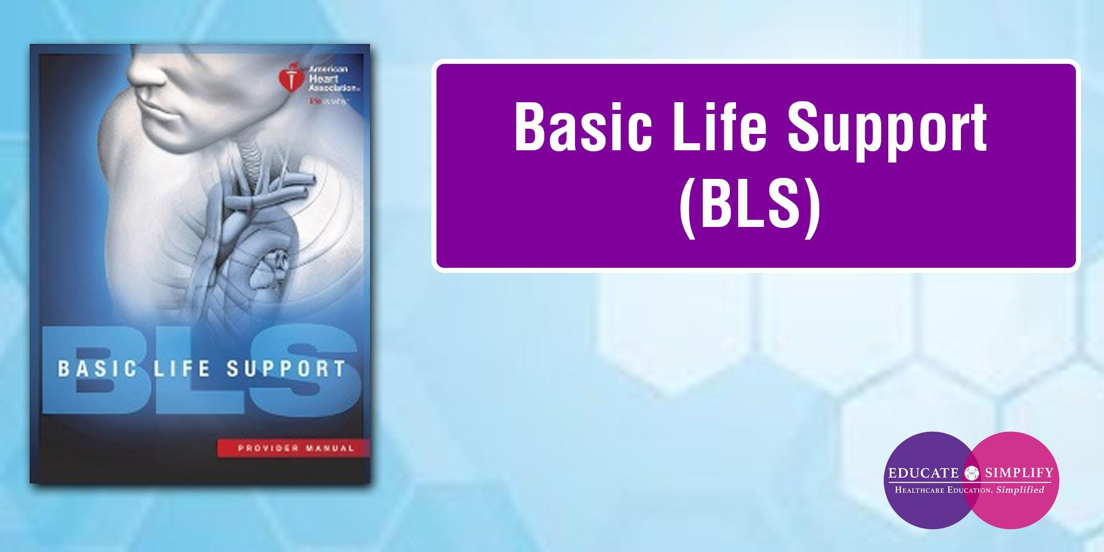 Basic Life Support Bls 15 Aug 2018