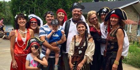 Journée des pirates 27 juillet 2019  tickets