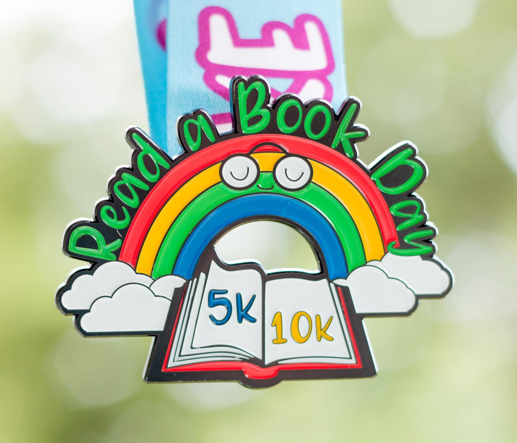 Read a Book Day 5K & 10K - Take a Look, It's in a Book -Phoenix