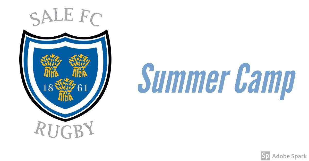 Sale FC Rugby Summer Camps Under 9's - Under