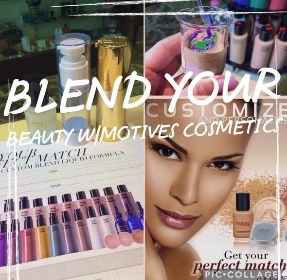 Motives Custom Blend Demo Event for Beauty In