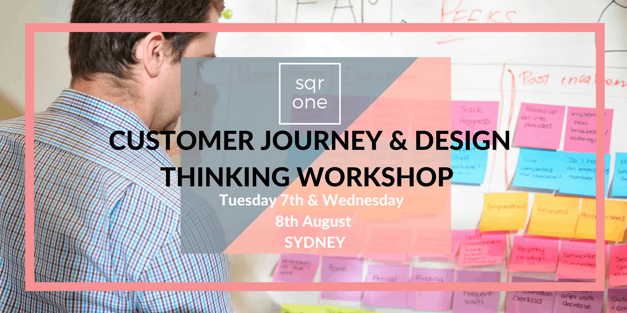 CUSTOMER JOURNEY MAPPING AND DESIGN THINKING WORKSHOP SYDNEY - Customer journey mapping workshop
