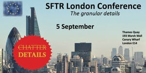International SFTR Conference