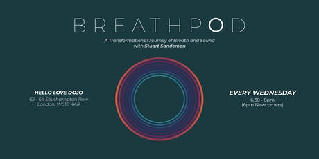 Breathpod: Weekly Transformational Breath™ Sessions tickets