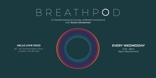 Breathpod: Weekly Transformational Breath™ Sessions