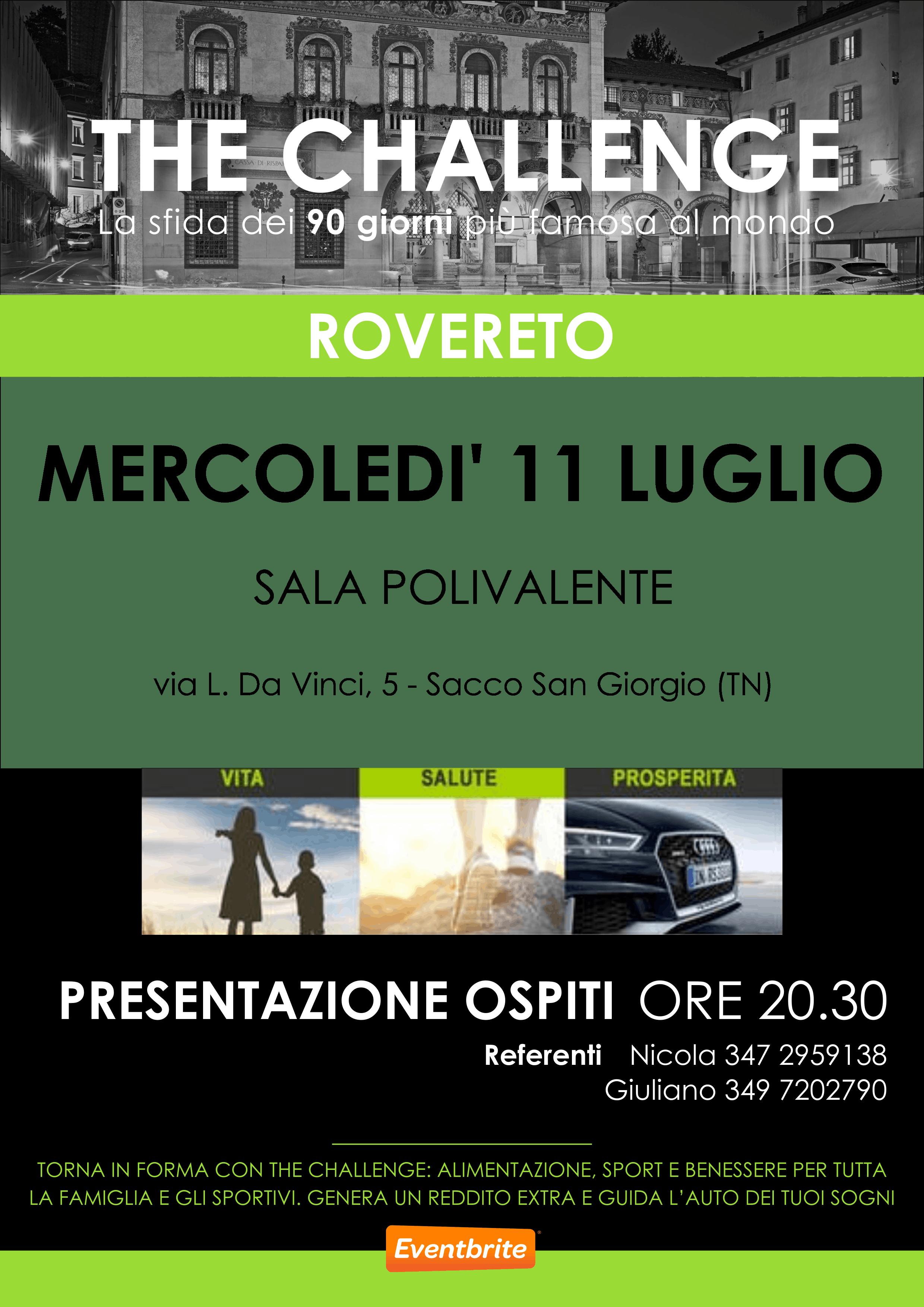 The CHALLENGE - Rovereto