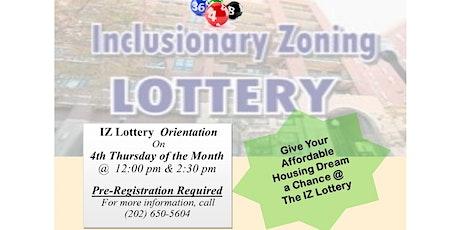 IZ Orientation -2:30pm  tickets