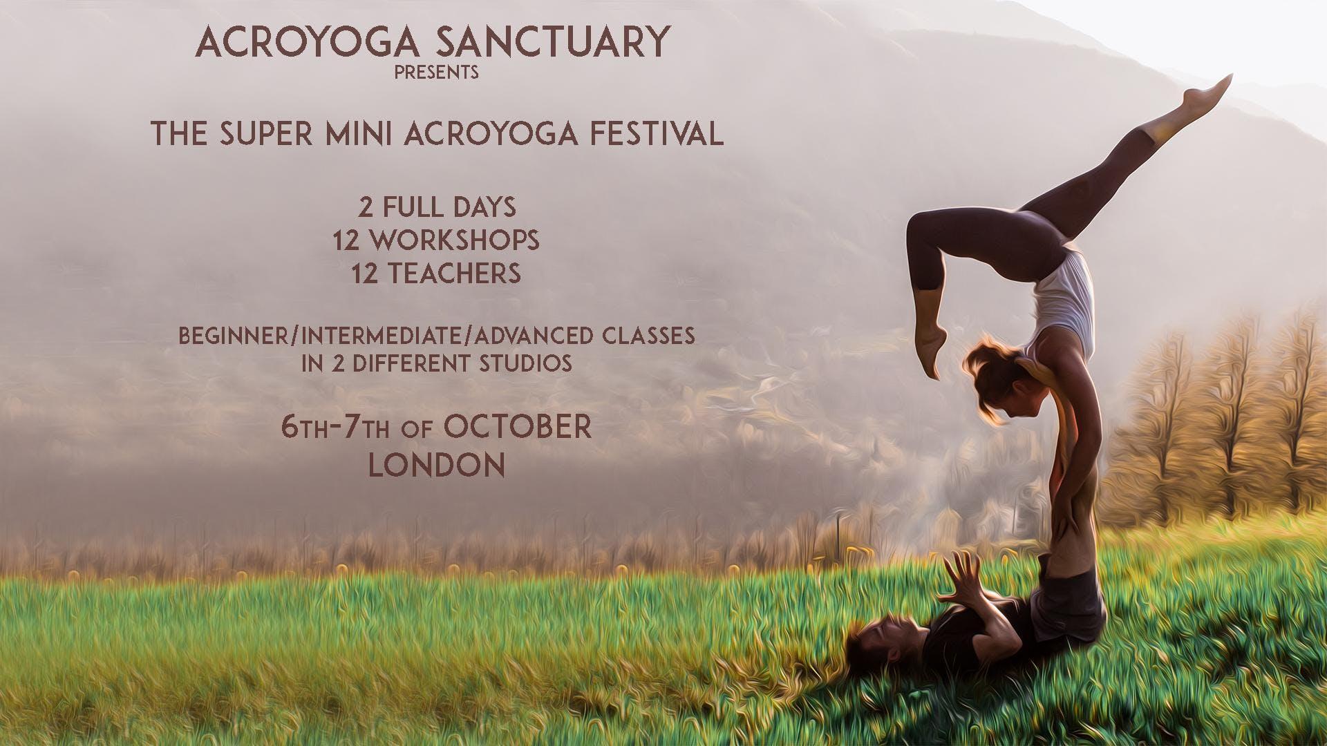 The Super Mini Acroyoga Festival