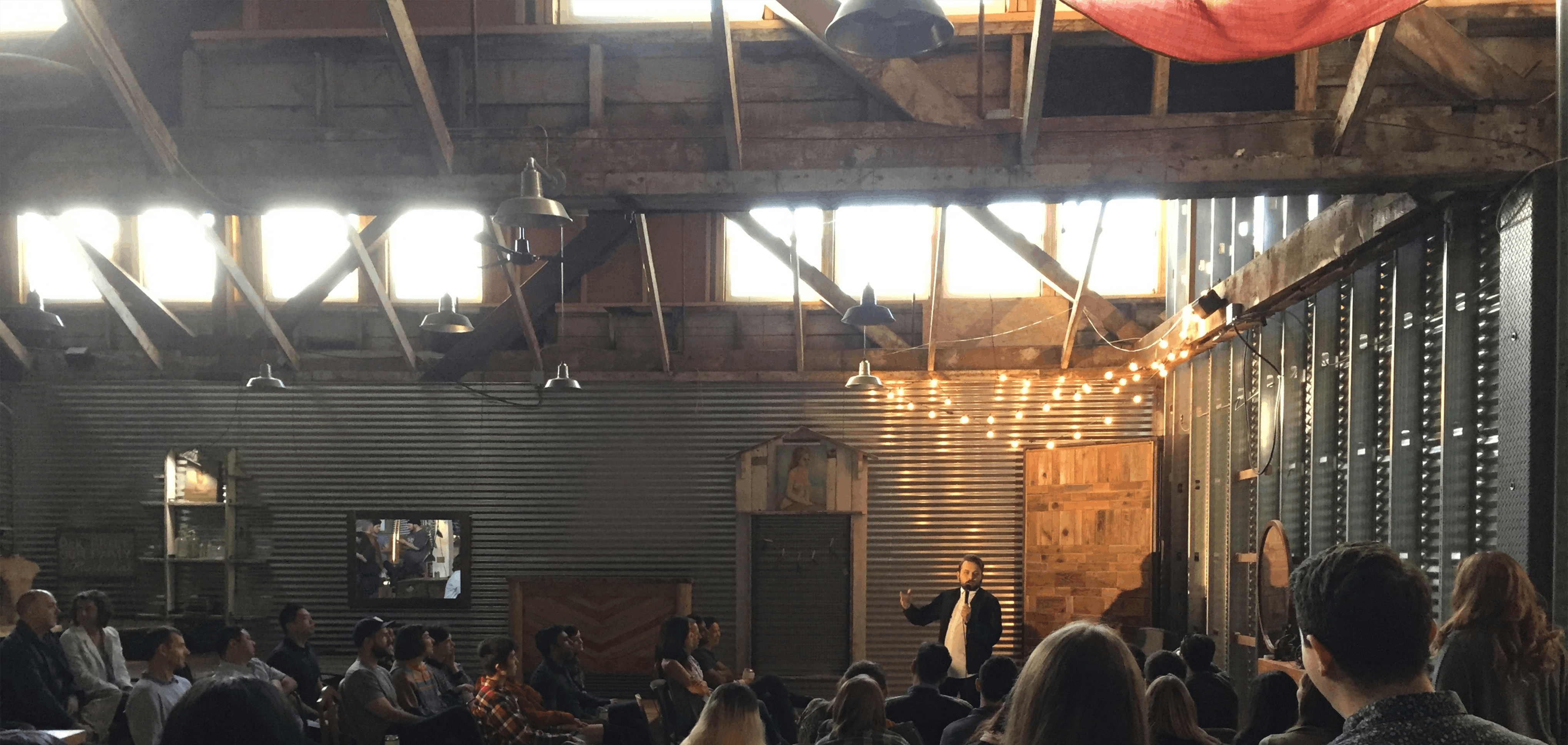 Super Stacked: Free Comedy in a Woodshop!