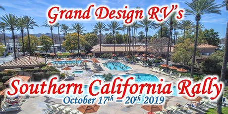 2019 Grand Design RV's Southern California Rally tickets