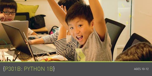 [Past] Coding for Kids - P301B: Python 1B Course (Ages 10-12) @ Parkway Parade