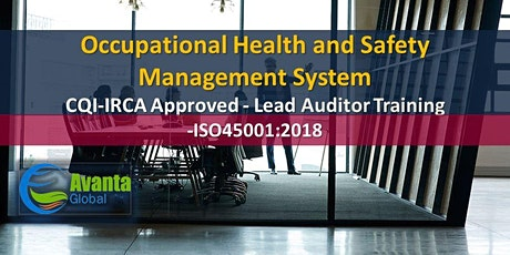 CQI-IRCA Approved - ISO 45001:2018 Occupational Health and Safety Management Systems Auditor / Lead Auditor Training Course tickets