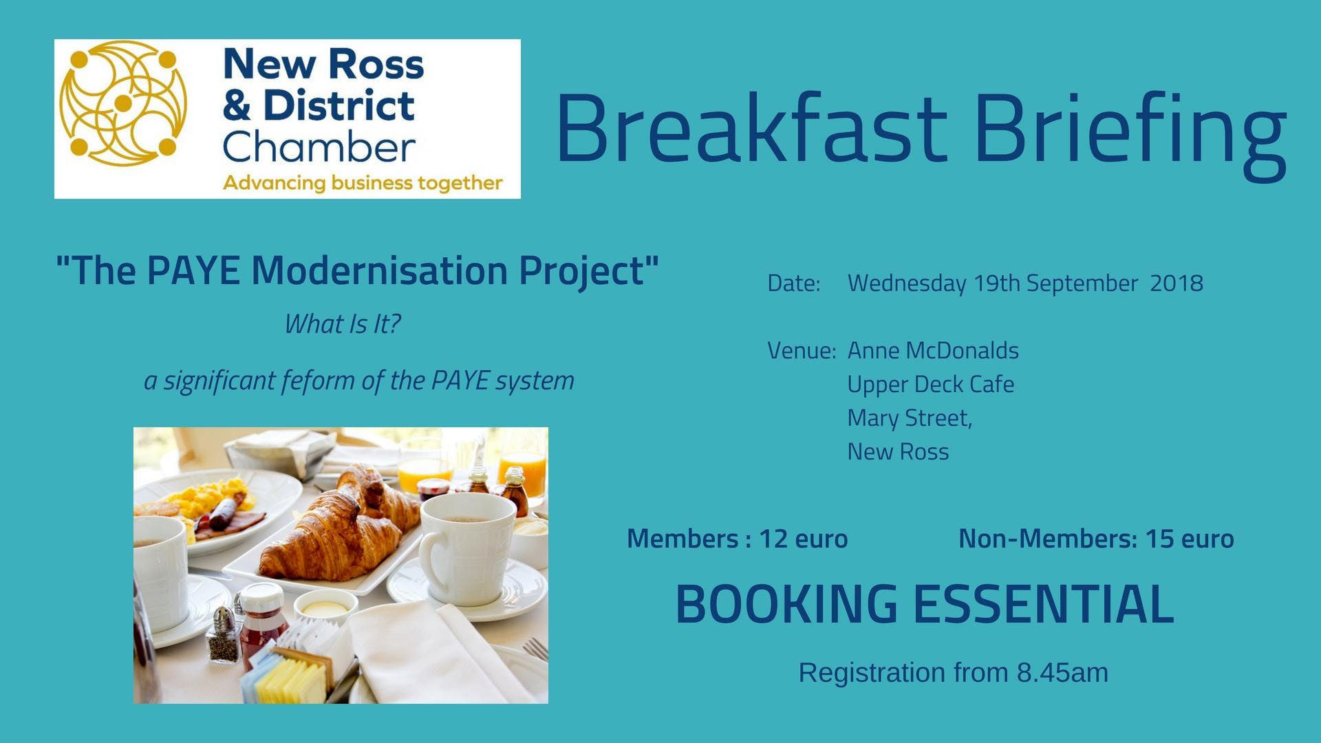 BREAKFAST BRIEFING- The PAYE Modernisation Project What is It?