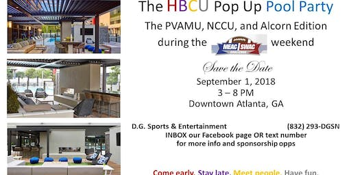 HBCU Pop-Up Pool Party
