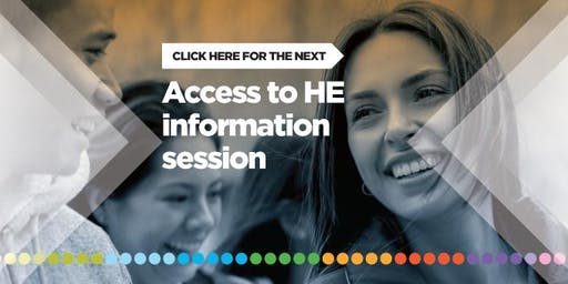 Access to HE - Information Evening (for starting September 2019)
