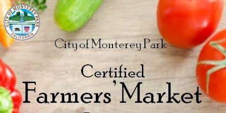 Monterey Park Farmers' Market tickets