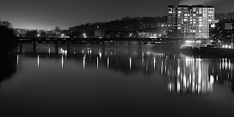 Hunt's Photo Walk: Haverhill at Night in Black & White tickets