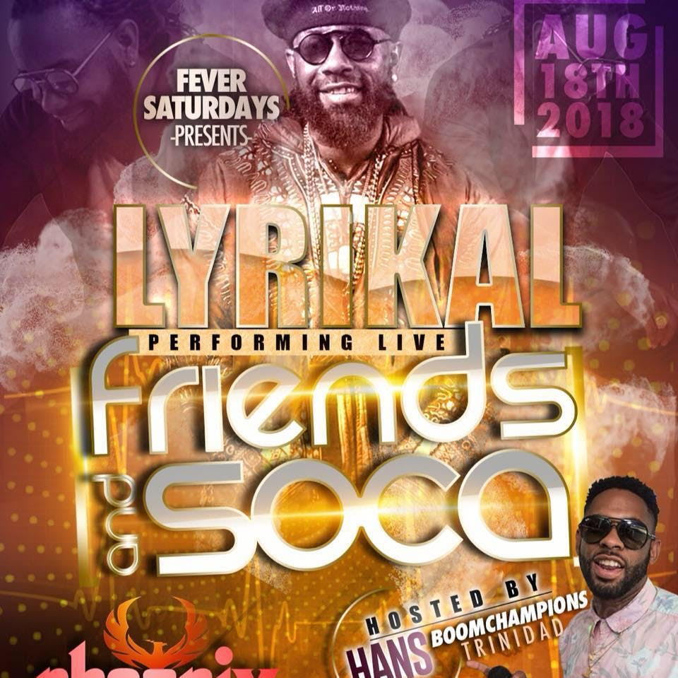 SOCA AND FRIENDS,(LYRICAL LIVE IN CONCERT) VA