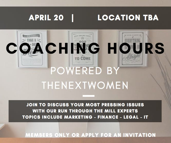 TNW Coaching Hours | Strategy