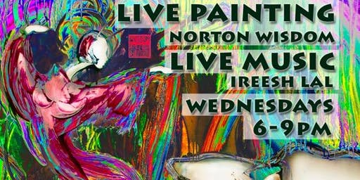 Wednesdays in art with Norton Wisdom at Atmosphere