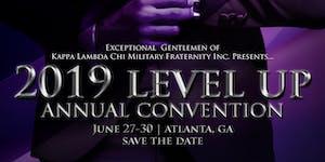 2019 Kappa Lambda Chi National Convention (#LevelUp)