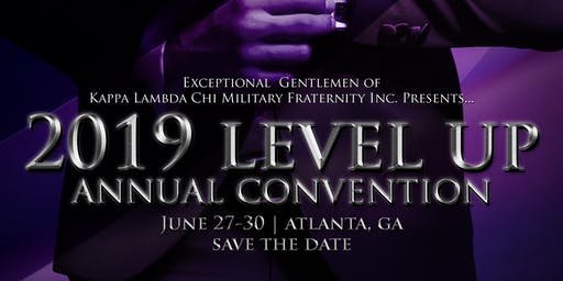 2019 Kappa Lambda Chi National Convention (#LevelUp)