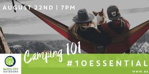 BCO & HTXO present Houston Outdoor Live: Camping 101
