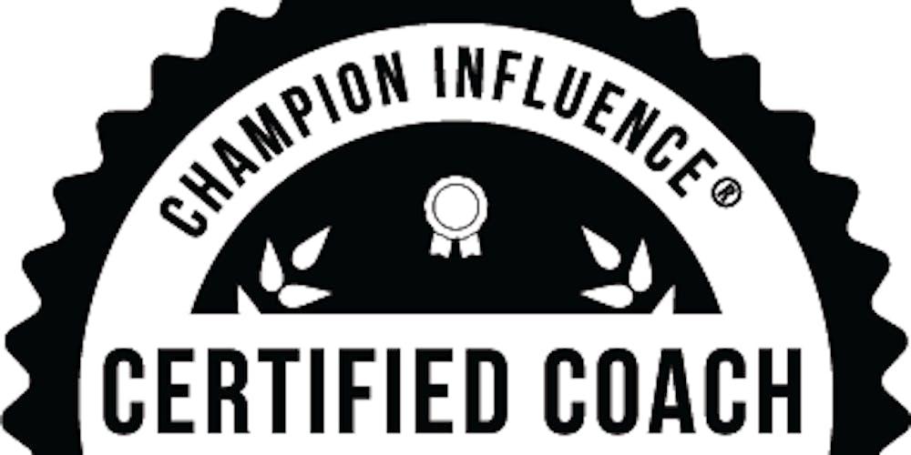 Champion Influence Coaching Certification Program Lafayette