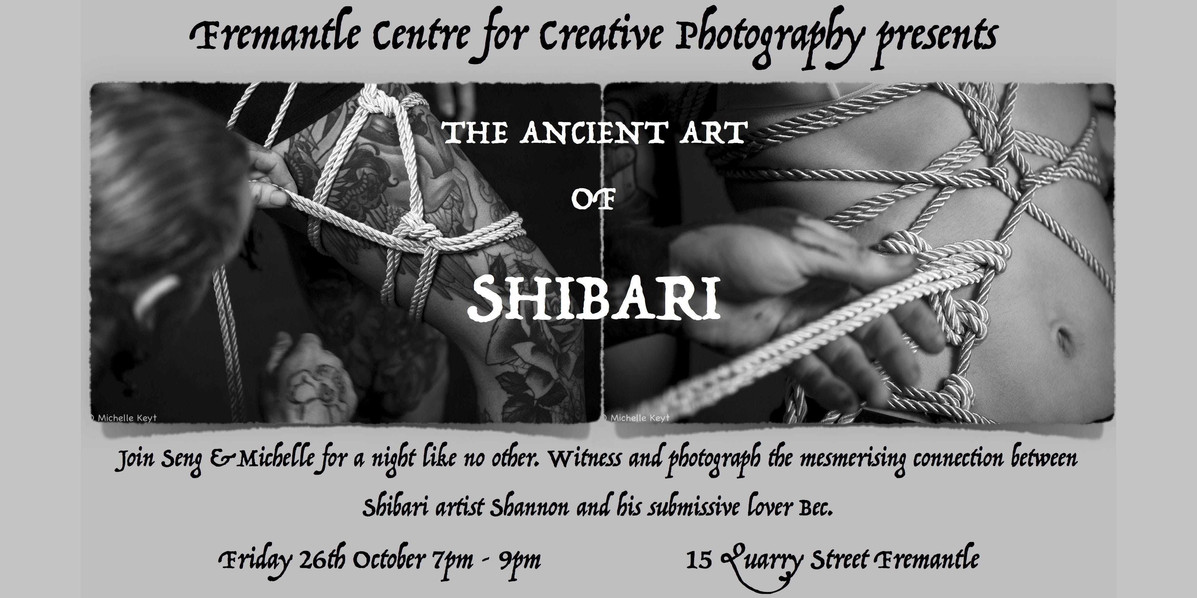 The Ancient & Erotic Art of Shibari