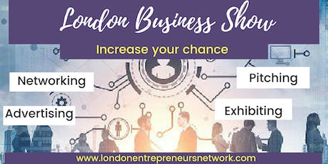 Exhibiting, LONDON BUSINESS SHOW® 28 tickets