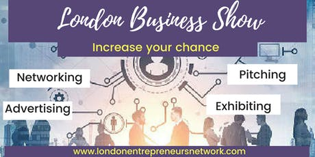 FREE visit LONDON BUSINESS SHOW® 29 tickets