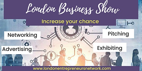 Exhibiting, LONDON BUSINESS SHOW® 30 tickets