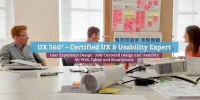 UX 360° – Certified UX & Usability Expert, Stuttgart