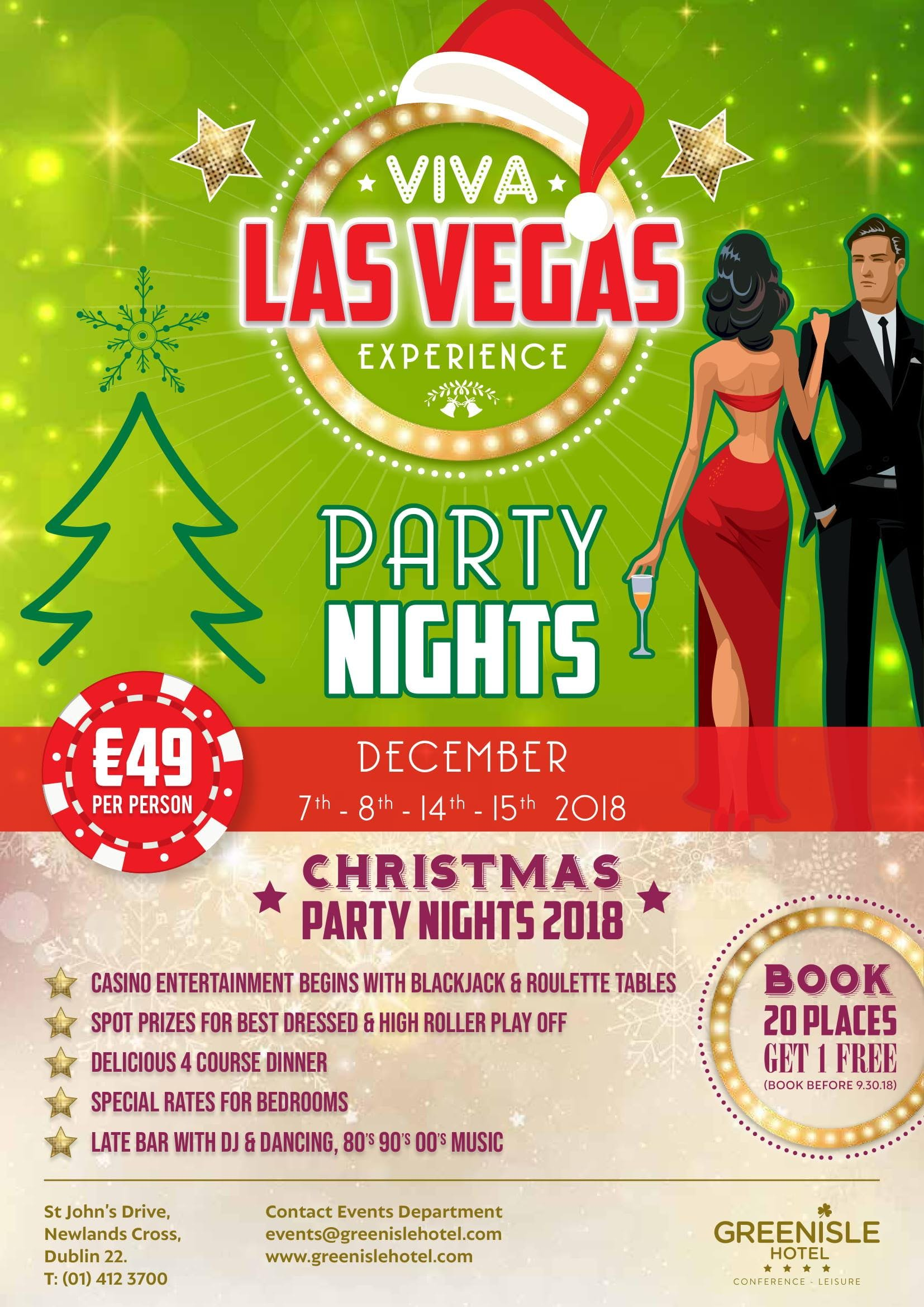 Las Vegas Experience Christmas Party