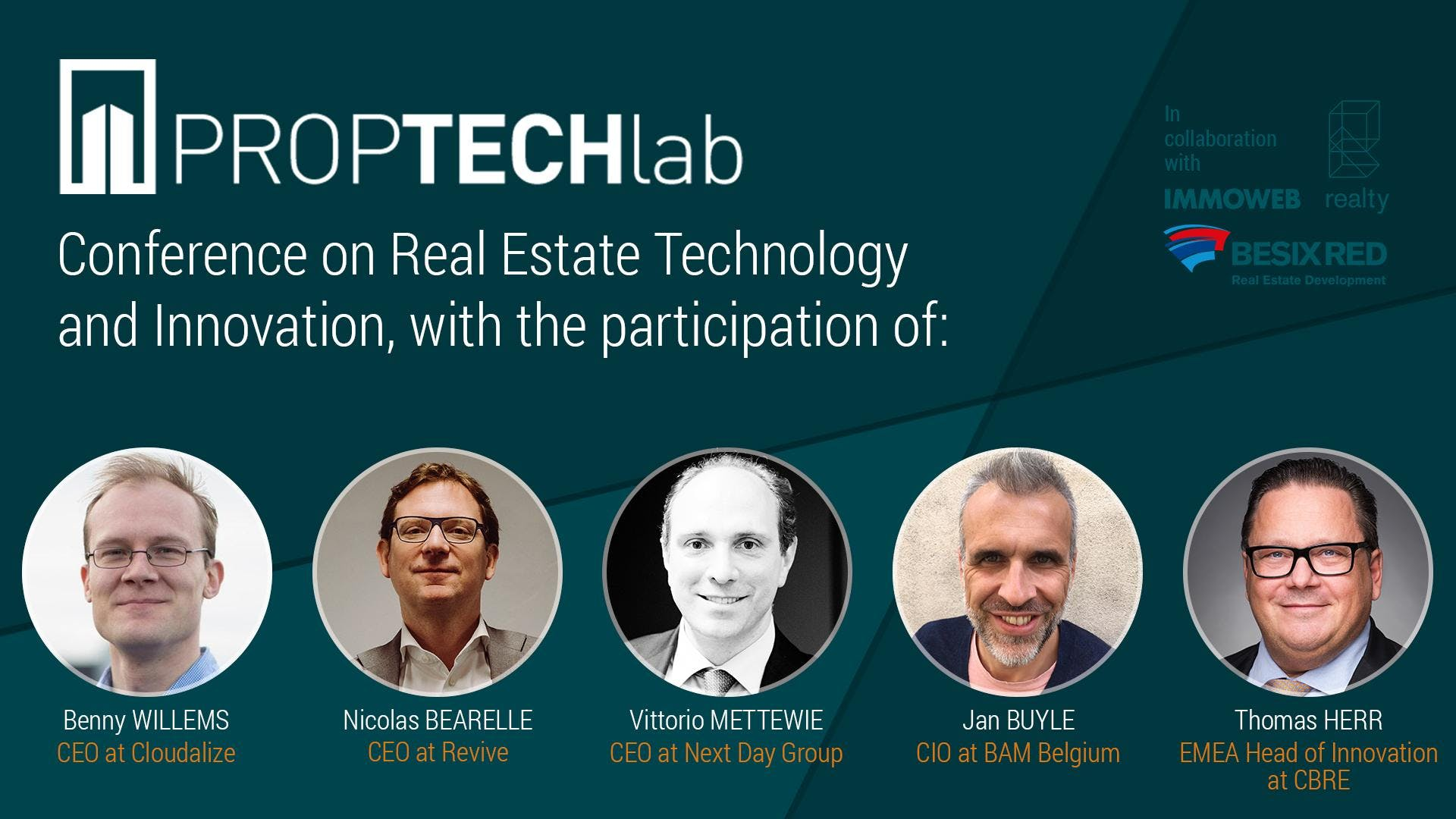 PropTech Afterworks with CBRE, BAM, Revive, N