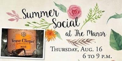 Summer Social at The Manor