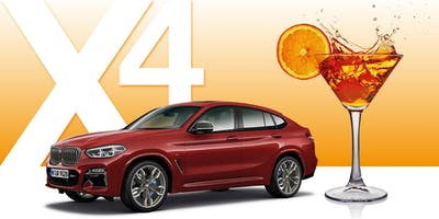 NUOVA BMW X4 • Official Party!