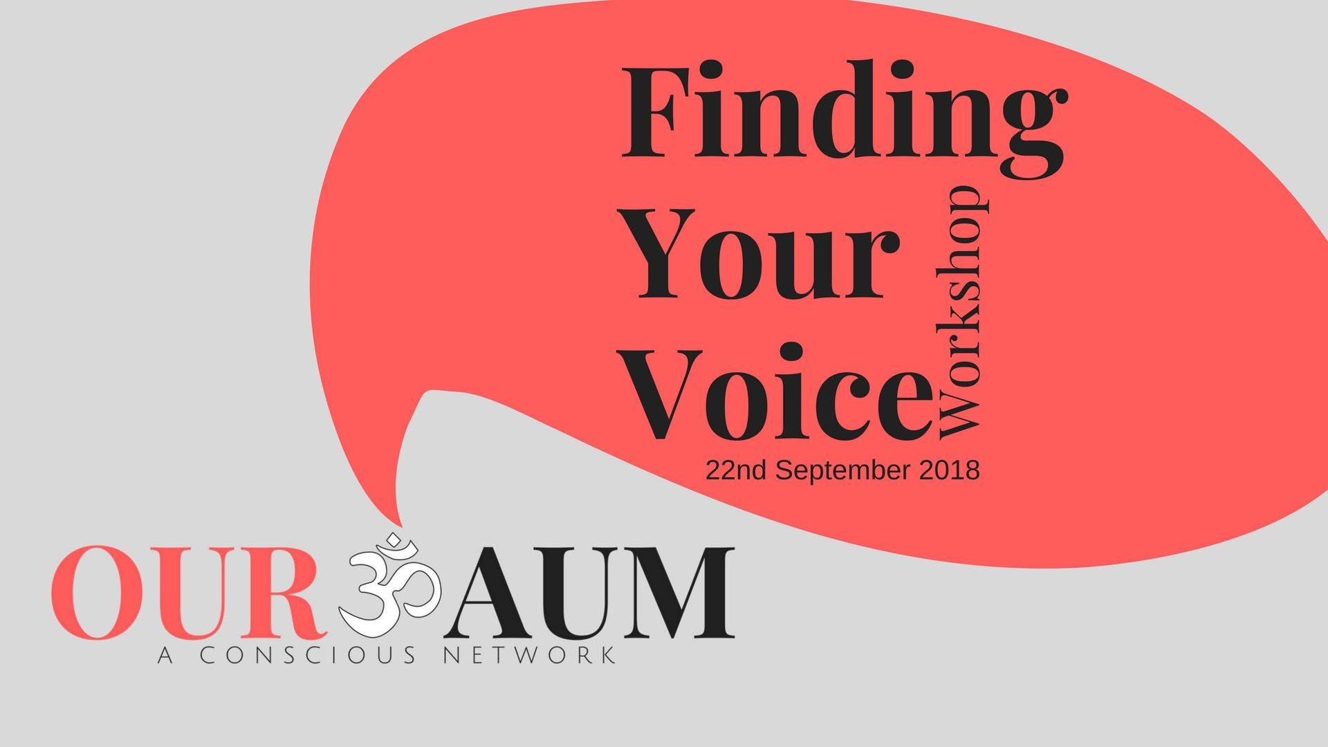 Finding Your Voice Workshop