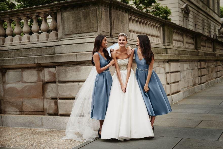 David's Bridal and Your & Your Wedding London