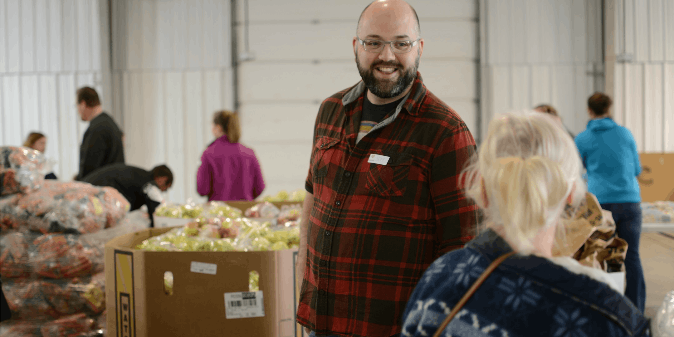 Urgent Need for Volunteers at the Food Bank 7
