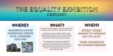 The Equality Exhibition tickets