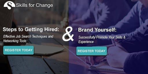 Skills for Employment - Steps to Getting Hired & Brand Yourself (East)