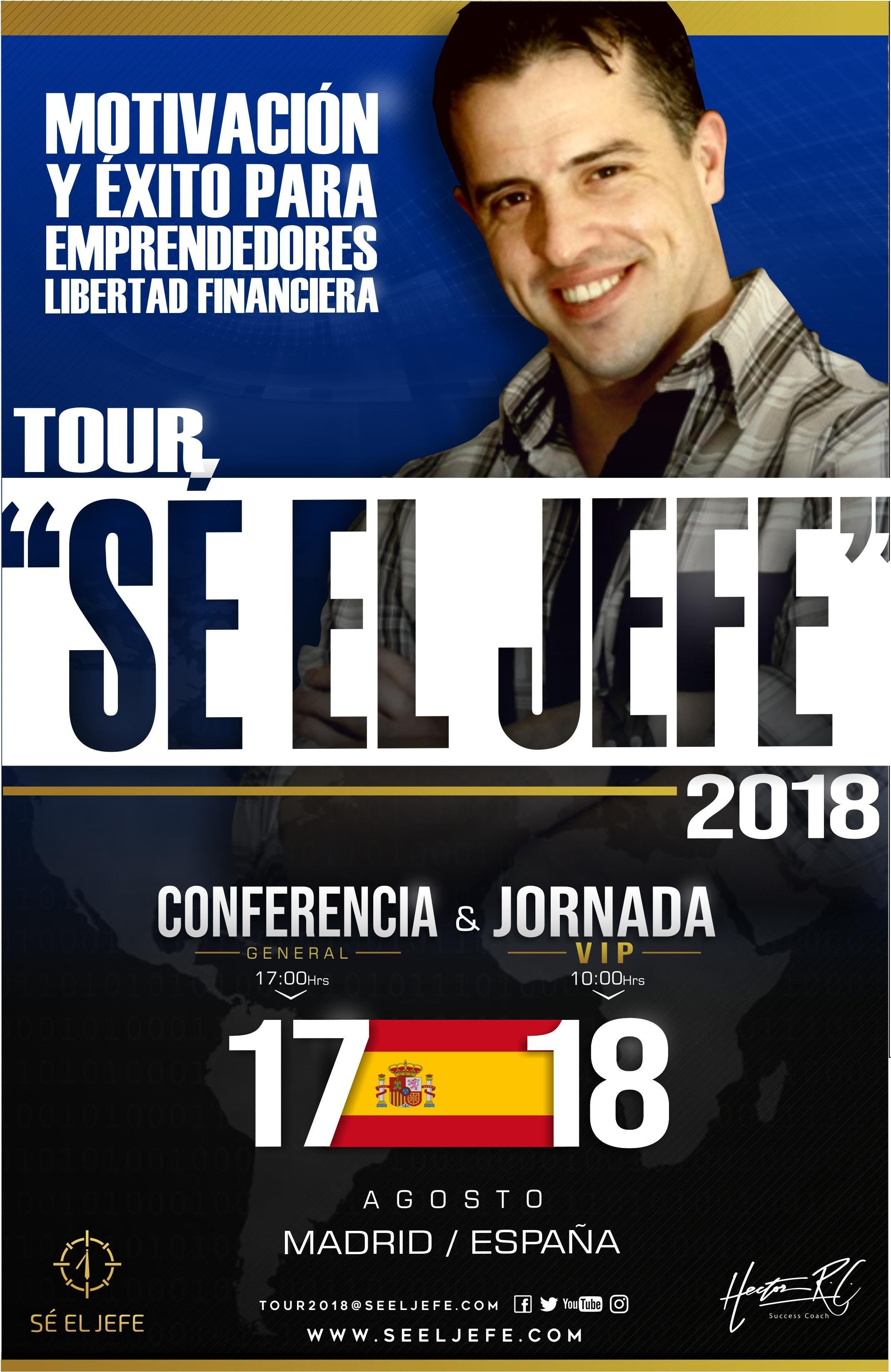 TOUR SÉ EL JEFE 2018 - MADRID